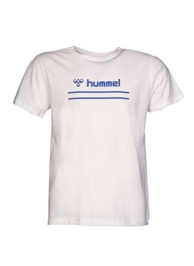 Hummel  Camel Kısa Kollu Tışört Beyaz